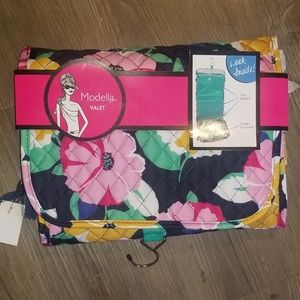 New! Valet Roll Up Travel Makeup toiletry Bag